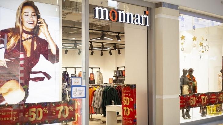 <p>Monnari (salon zajmuje 167 mkw.) obok sklepu iSpot naprzeciwko drogerii Hebe, na poziomie - 1 centrum.</p>