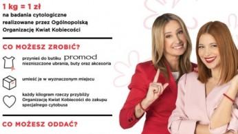 9c36f70b9a Promod zbiera ubrania na walkę z rakiem szyjki macicy