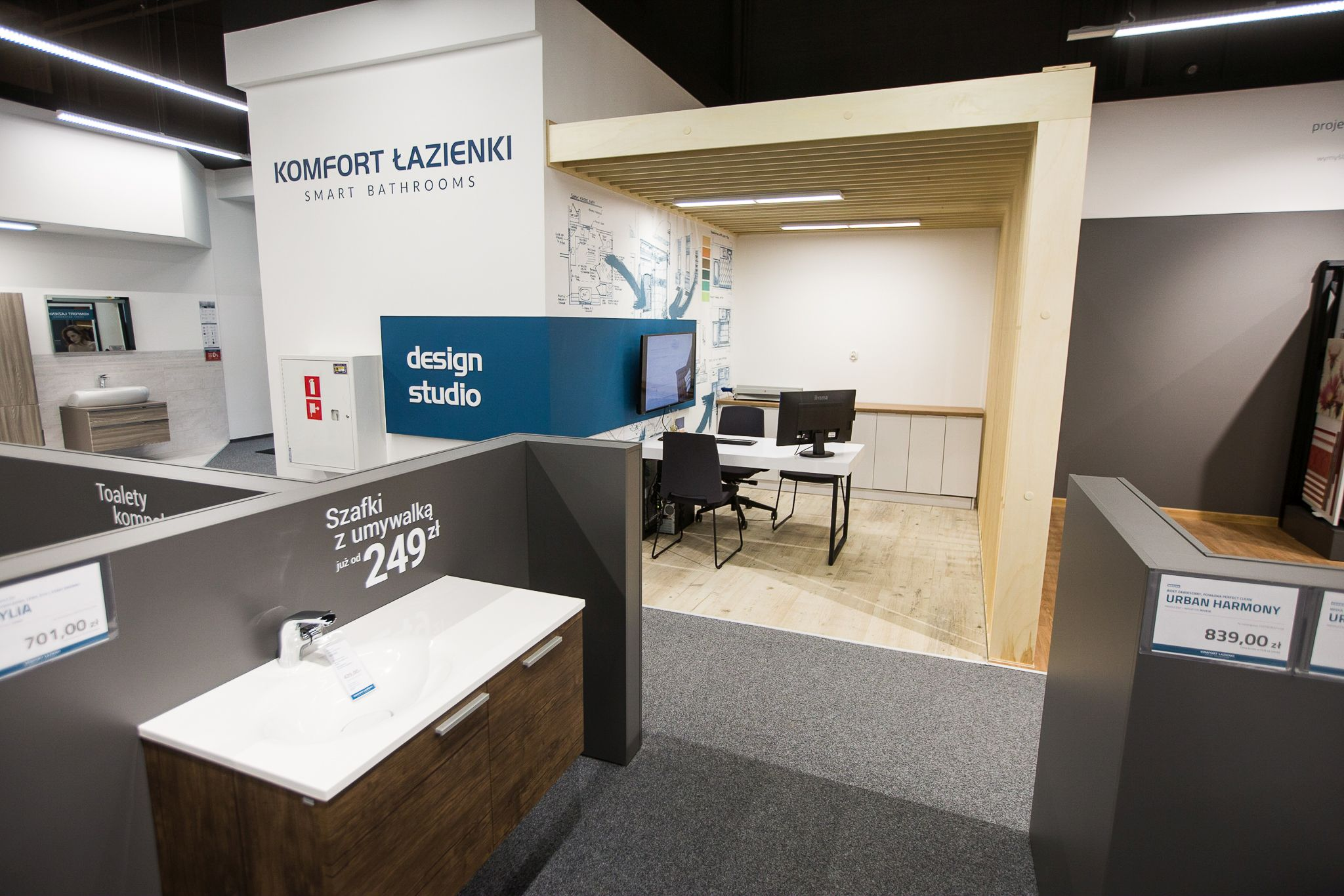 Debiut Komfort łazienki W Warszawie